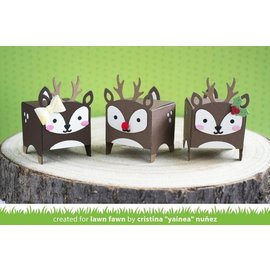 Docrafts / X-Cut Cutting dies, box in the form of a reindeer