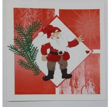 Elisabeth Craft Dies , By Lene, Lawn Fawn Modelli di punzonatura, Babbo Natale