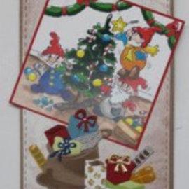 Elisabeth Craft Dies , By Lene, Lawn Fawn Snijsjablonen, kerst tas en geschenken