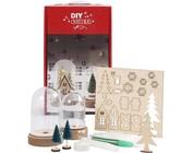 Video di istruzioni: set di materiale per una piccola scena natalizia sotto ogni campana.