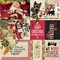 Karten und Scrapbooking Papier, Papier blöcke Cartões e bloco de papel de scrapbooking, motivos de Natal