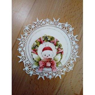 Bilder, 3D Bilder und ausgestanzte Teile usw... basteln für Weihnachten, 1 vorgestanzten Bogen, A4