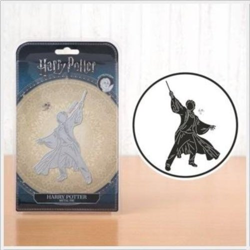 Spellbinders und Rayher Skære skabeloner, Harry Potter 9,3cm x 15,2cm