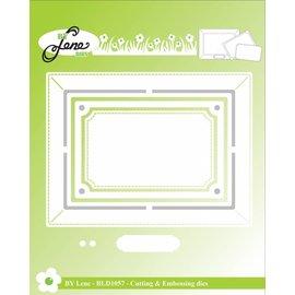 Leane Creatief - Lea'bilities und By Lene modelli di taglio, per la progettazione di cornici per foto
