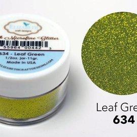Taylored Expressions Zijde microfijne glitter, groen in blad