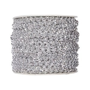 Embellishments / Verzierungen Stjerner deco bånd i sølv. Om ønsket 1 meter GRATIS, når du handler
