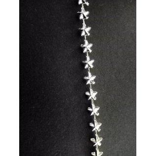 Embellishments / Verzierungen Nastro decorativo stelle in argento