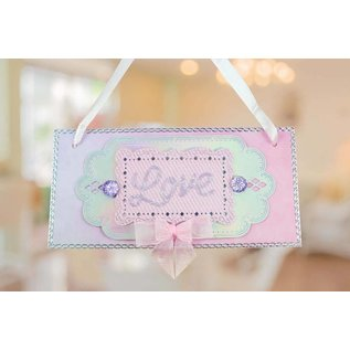 Tattered Lace Punching Stencils, Vintage Labels (Etiketter) Limited!