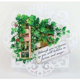 Tattered Lace NOUVEAU! Modèle de poinçonnage: fenêtre avec lierre