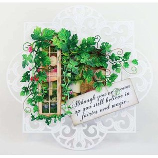 Tattered Lace NEW! cutting die: Fairy Hideaway