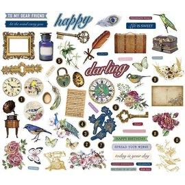 Embellishments / Verzierungen Adornos vintage, 138 piezas!