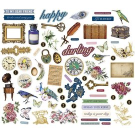 Vintage, Nostalgia und Shabby Shic Adornos vintage, 138 piezas!