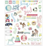Embellishments / Verzierungen Baby Embellishments, 96 Teile!