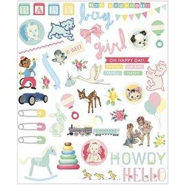 Embellishments / Verzierungen Enfeites de bebê, 96 peças!
