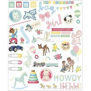 Embellishments / Verzierungen Baby Embellishments, 96 delen!
