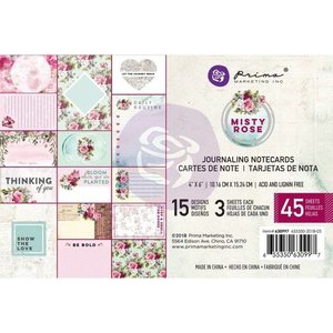 """Prima Marketing und Petaloo Kaarten en plakboek, verfraaiingen, """"Misty Rose"""" - Copy"""