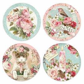Stamperia und Florella Christmas crafts, rice paper sticky, 21x21cm