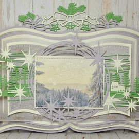 Joy!Crafts / Jeanine´s Art, Hobby Solutions Dies /  Ponsen sjabloon: Grens met bogen