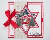 Preparación para tarjetas de invierno y de Navidad y otros proyectos!