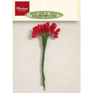 Marianne Design Make Christmas decorations: berries to decorate