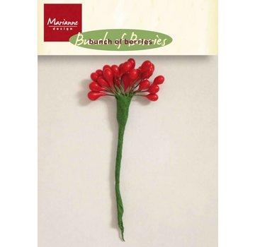 Marianne Design Crea decorazioni natalizie: bacche da decorare