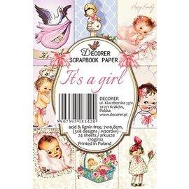 Karten und Scrapbooking Papier, Papier blöcke Blocco di carta per bambini, 7,0 x 10,8 cm