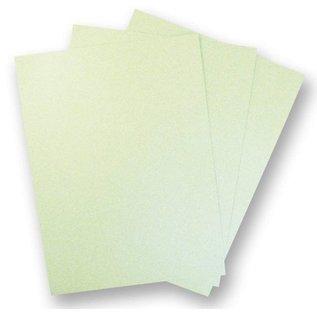 Karten und Scrapbooking Papier, Papier blöcke 5 feuilles de carton métallique, extra CLASS, en belle couleur vert menthe!