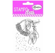Stempel / Stamp: Transparent Stempel motiv, Transparent: Aladine Unicorn
