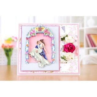 Tattered Lace Ponsen stencils, romantische Gazebo