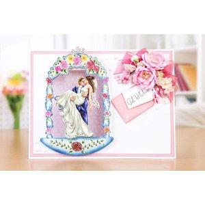 Tattered Lace Pochoirs de poinçon, Gazebo romantique