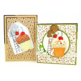 Tattered Lace cutting dies, The Cherry on the Top