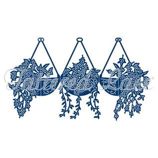 Tattered Lace Modelli di taglio, Fuschia botanica vintage