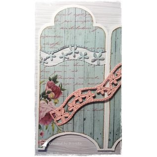 Joy!Crafts / Jeanine´s Art, Hobby Solutions Dies /  Snij- en embossing Sjablone: 5 Bordüren / randen
