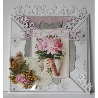 Joy!Crafts / Jeanine´s Art, Hobby Solutions Dies /  Stanzschablone: Mery's Basic, 5 Bordüre / Ränder