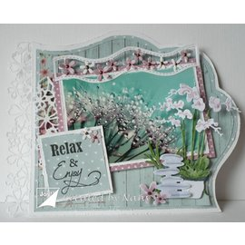 Joy!Crafts / Jeanine´s Art, Hobby Solutions Dies /  modello di taglio e goffratura: 5 bordi
