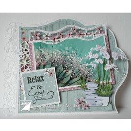 Joy!Crafts / Jeanine´s Art, Hobby Solutions Dies /  plantilla de corte y estampado en relieve: 5 bordes