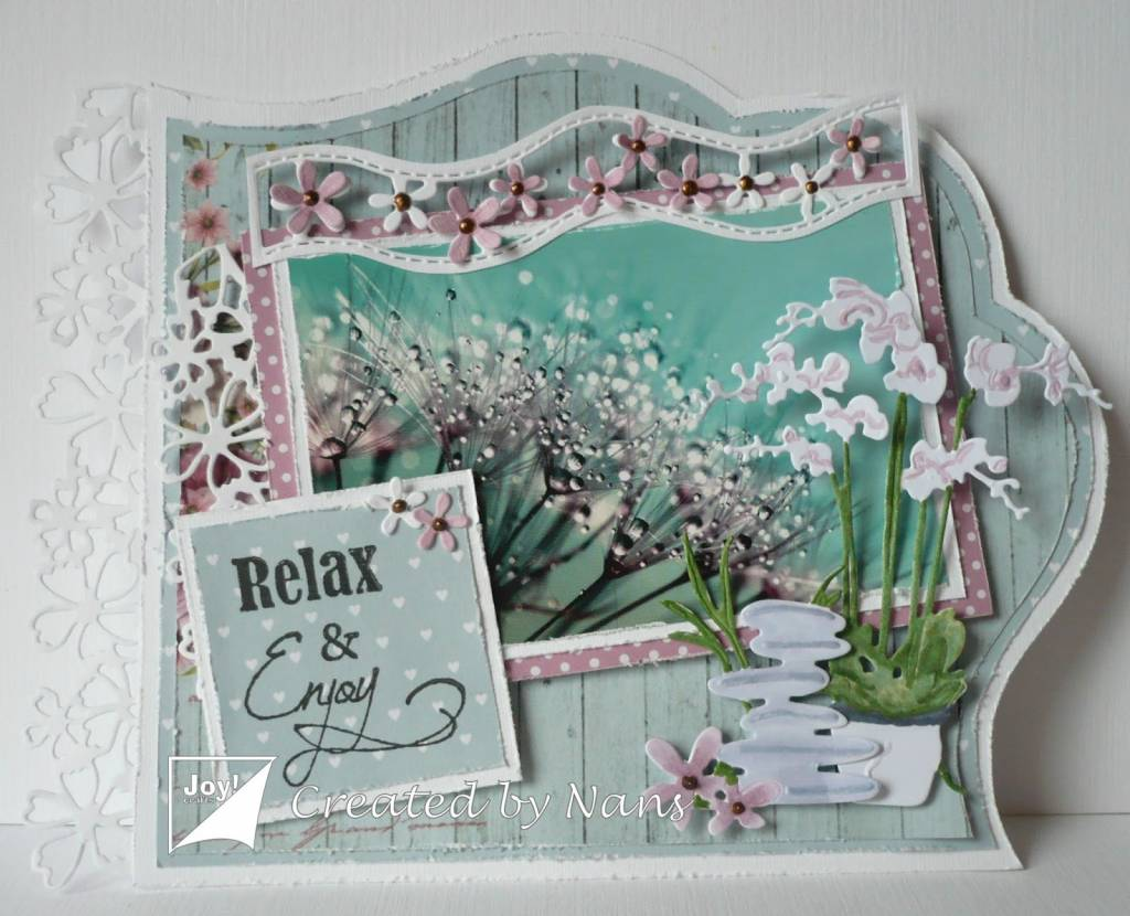 cutting and Embossing template: 5 Borders - Hobby-Crafts24.eu English