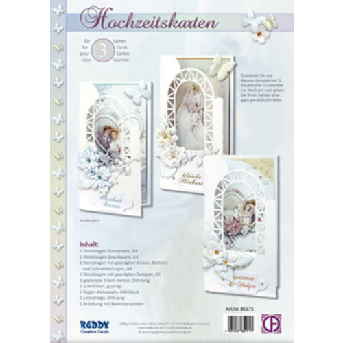 BASTELSETS / CRAFT KITS Craft set for wedding invitation cards
