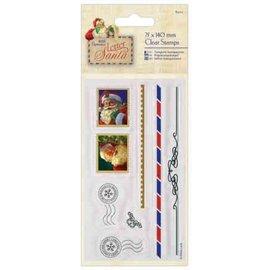 Docrafts / Papermania / Urban Motivo del francobollo: motivi natalizi