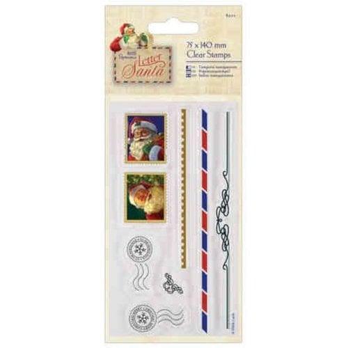 Docrafts / Papermania / Urban Stamp motif: Christmas motives