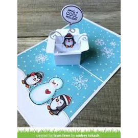Elisabeth Craft Dies , By Lene, Lawn Fawn Snijmallen, Lawn Fawn Mini Pop-Up Box