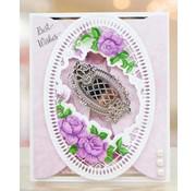 Tattered Lace Cutter skabeloner, vintage etiketter (etiketter) begrænset!