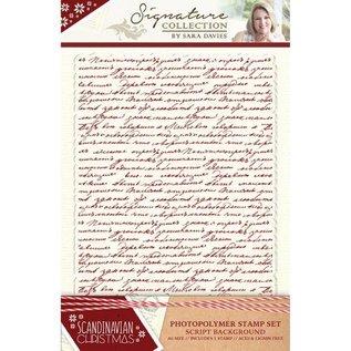 Stempel / Stamp: Transparent Rubber stamp, rubber: Script