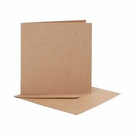 KARTEN und Zubehör / Cards 10 cartões + 10 envelopes em papel de força