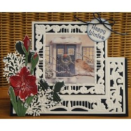 Marianne Design Stencils, Anjas lacy folding: square