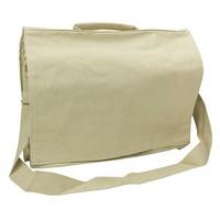 School / laptop bag, cream