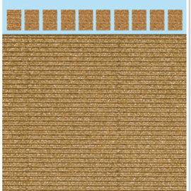 REDDY Cardboard microwave, 230g./qm, A4 format, glitter gold
