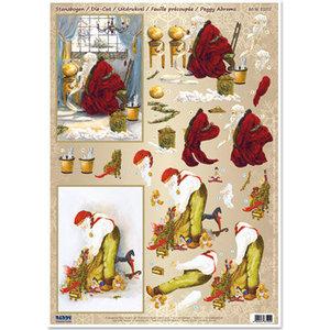 Bilder, 3D Bilder und ausgestanzte Teile usw... knutselwerk voor kerst, 3D nostalgie van ponsenvel