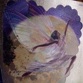 Bilder, 3D Bilder und ausgestanzte Teile usw... Dufex punching sheet, angel