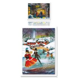 Bilder, 3D Bilder und ausgestanzte Teile usw... Dufex-Pyramex: In de sneeuw